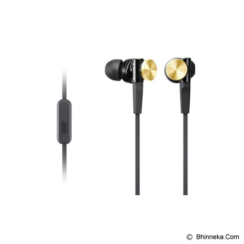 SONY Earphone [MDR-XB 70] - Gold - Earphone Ear Monitor / Iem